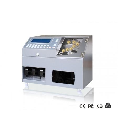 Máquina de contar moedas CS-211S Certificada pelo BCE