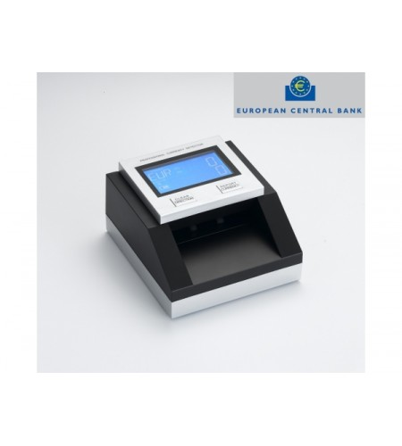 Detector de notas falsas RM-306 (Euros, USD, GBP) Aprovada pelo BCE