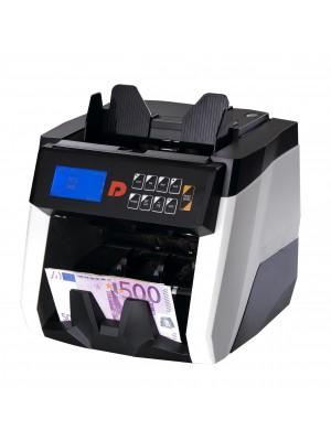 DP-7218E Máquina de contar e valorizar notas de diversas moedas, Certificada pelo BCE