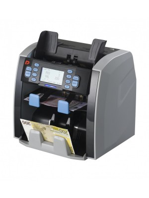 DP-8120 Máquina de contar e valorizar notas de diversas moedas, Certificada pelo BCE (EUR, USD, GBP, XAF, AOA, CHF)